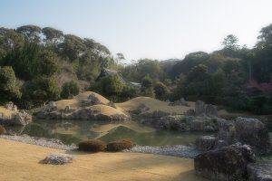 摩訶耶寺の庭園
